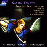 Přední strana obalu CD Rutti: Sacred Choral Music