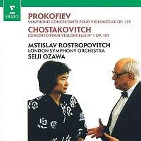 Přední strana obalu CD Prokofiev: Sinfonia concertante - Shostakovich: Cello Concerto No. 1