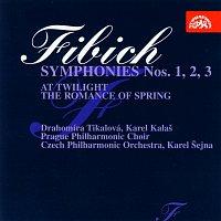 Přední strana obalu CD Fibich: Symfonie č. 1 - 3 komplet, V podvečer, Jarní romance