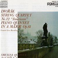 """Josef Hála, Smetana Quartet – Antonin Dvorak: String Quartet No. 12 """"American"""" & Piano Quintet in A Major Op. 81"""