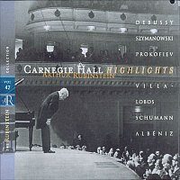 Arthur Rubinstein, Sergei Prokofiev – Rubinstein Collection, Vol. 42: Live at Carnegie Hall: Debussy, Szymanowski, Prokofiev, Villa-Lobos, Schumann, Albéniz