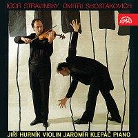 Jiří Hurník, Jaromír Klepáč – Stravinskij: Divertimento pro housle a klavír, Šostakovič: Sonáta pro housle a piano