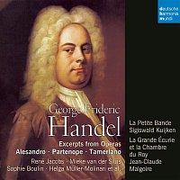 Přední strana obalu CD Handel: Opera Arias
