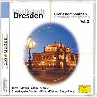 Přední strana obalu CD Musikstadt Dresden: Grosze Komponisten Vol.2