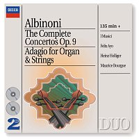 I Musici, Heinz Holliger, Felix Ayo, Maurice Bourgue, Maria Teresa Garatti – Albinoni: The Complete Concertos/Adagio for Organ & Strings