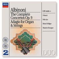 I Musici, Heinz Holliger, Felix Ayo, Maurice Bourgue, Maria Teresa Garatti – Albinoni: The Complete Concertos/Adagio for Organ & Strings