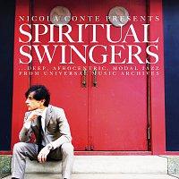 Přední strana obalu CD Nicola Conte Presents Spiritual Swingers