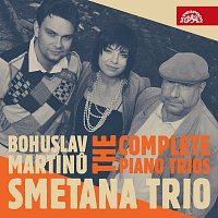 Přední strana obalu CD Martinů: Klavírní tria - Komplet