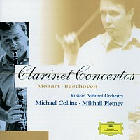 Přední strana obalu CD Mozart / Beethoven: Clarinet Concertos
