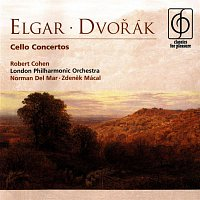 Robert Cohen, London Philharmonic Orchestra, Norman Del Mar, Zdeněk Mácal – Elgar & Dvorák Cello Concertos