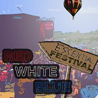 Přední strana obalu CD Essential Festival: Red, White, Blue [International Version]