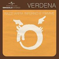 Přední strana obalu CD Razzi Arpia Inferno E Fiamme