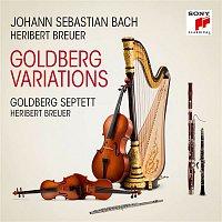 Přední strana obalu CD Goldberg Variations, BWV 988, Arr. for Septet by Heribert Breuer/Aria
