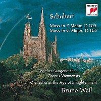 Bruno Weil, Orchestra Of The Age Of Enlightenment, Franz Schubert, Jorg Hering, Harry van der Kamp, Wiener Sangerknaben, Chorus Viennensis – Schubert: Mass in F Major, D 105; Mass in G Major, D 167
