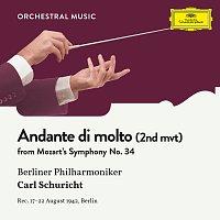 Berliner Philharmoniker, Carl Schuricht – Mozart: Symphony No. 34  In C, KV 338: II. Andante di molto