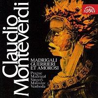Přední strana obalu CD Monteverdi: Madrigaly válečné a milostné