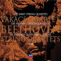 Přední strana obalu CD Beethoven: The Early Quartets