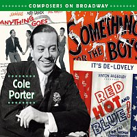 Přední strana obalu CD Composers On Broadway: Cole Porter