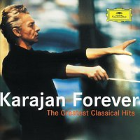 Přední strana obalu CD Karajan Forever - The Greatest Classical Hits