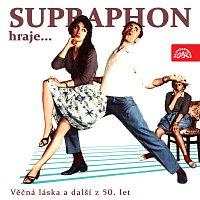 Přední strana obalu CD Supraphon hraje ...Věčná láska a další z 50. let