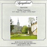 Bohuslav Matoušek, Pražský komorní orchestr, Libor Hlaváček – Haydn: Houslové koncerty