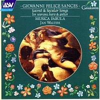 Přední strana obalu CD Sances: Sacred and Secular Songs for Soprano, Harp and Guitar