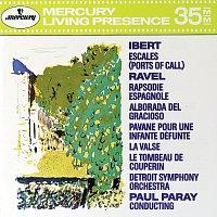 Detroit Symphony Orchestra, Paul Paray – Ibert: Escales / Ravel: Rapsodie Espagnole; La valse; Le Tombeau de Couperin etc.