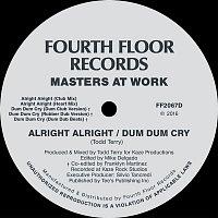 Přední strana obalu CD Alright Alright / Dum Dum Cry