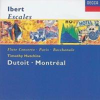 Timothy Hutchins, Orchestre Symphonique de Montréal, Charles Dutoit – Ibert: Escales/Concerto for Flute & Orchestra/Hommage a Mozart/Suite