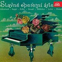 Přední strana obalu CD Árie ze světových operet