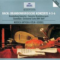 Musica Antiqua Koln, Reinhard Goebel – Bach, J.S.: Brandenburg Concertos Nos.4, 5 & 6; Overture No.4