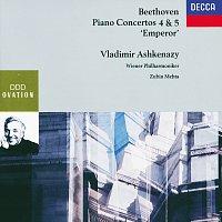 """Vladimír Ashkenazy, Wiener Philharmoniker, Zubin Mehta – Beethoven: Piano Concertos Nos.4 & 5 """"Emperor"""""""