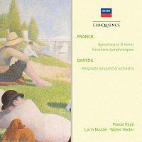 Pascal Rogé, Lorin Maazel, Walter Weller, The Cleveland Orchestra – Franck: Symphony in D Minor, Variations Symphoniques – Bartók: Rhapsody
