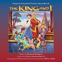 Přední strana obalu CD The King and I - Original Animated Feature Soundtrack