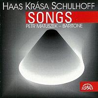 Přední strana obalu CD Haas, Krása, Schulhoff: Písně