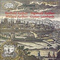 Gustav Leonhardt, Barthold Kuijken, Wieland Kuijken, Sigiswald Kuijken, Georg Philipp Telemann – Telemann: Paris Quartets