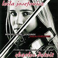 Leila Josefowicz, Orchestre Symphonique de Montréal, Charles Dutoit – Mendelssohn & Glazunov: Violin Concertos / Tchaikovsky: Valse-Scherzo