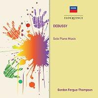 Přední strana obalu CD Debussy: Solo Piano Music