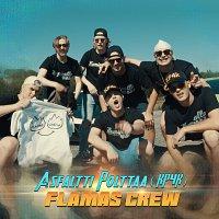 Flamas  Crew, MunkkiTuk, Kono, SaundiFaija, Kride W, Ole, Kapteeni – Asfaltti Polttaa (KP4k)