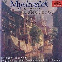 Přední strana obalu CD Mysliveček: Koncerty pro housle a orchestr