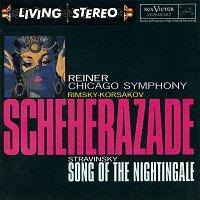 Přední strana obalu CD Rimsky-Korsakov: Scheherazade / Stravinsky: Song of the Nightingale