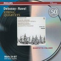 Přední strana obalu CD Debussy: String Quartet in G minor / Ravel: String Quartet in F