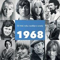 Přední strana obalu CD 1968 / 50 hitů roku naděje a zrady