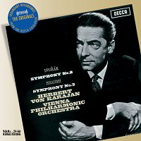Přední strana obalu CD Brahms: Symphony No.3 in F / Dvorak: Symphony No.8 in G