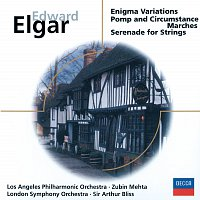 Los Angeles Philharmonic, Zubin Mehta, London Symphony Orchestra, Sir Arthur Bliss – Elgar: Enigma Variations; Pomp & Circumstance Marches;  Serenade for Strings
