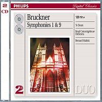 Přední strana obalu CD Bruckner: Symphonies Nos.1 & 9; Te Deum