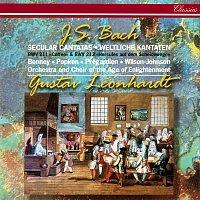 "Gustav Leonhardt, Barbara Bonney, Ralf Popken, Christoph Prégardien – J.S. Bach: Secular Cantatas Nos. 211 ""Coffee"" & 213"