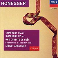 Pierre Mollet, Choeur Des Jeunes, Lausanne, Choeur De Radio, Lausanne – Honegger: Symphonies Nos.2 & 4; Une Cantate de Noel