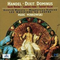 Přední strana obalu CD Handel: Dixit Dominus; Salve Regina; Laudate Pueri; Saeviat Tellus