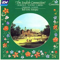 Přední strana obalu CD The English Connection: Purcell; Young; Lawes; Jenkins; Locke